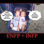 ENFP and INFP