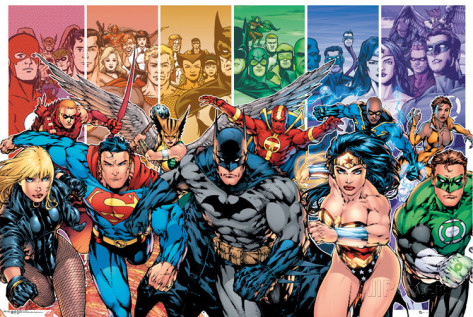 Myers Briggs DC Superhero Character Types - Personality Growth