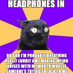 Headphones in
