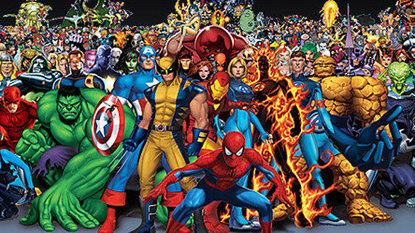 Marvel Malvorlagen Marvel Superhero The Marvel Super: Myers Briggs (MBTI) Marvel Superhero Characters