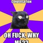 Stranger Starts A Conversation