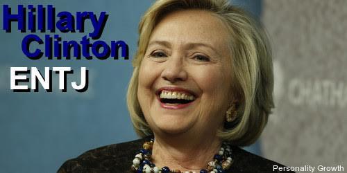 Hillary Clinton ENTJ