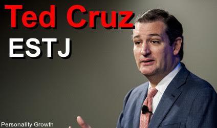 Ted Cruz ESTJ