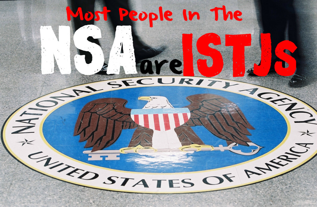 Most People In The NSA Are ISTJs