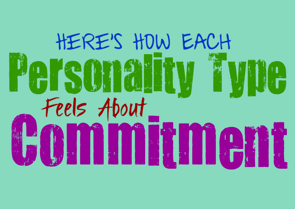 Here's How Each Personality Type Feels About Commitment