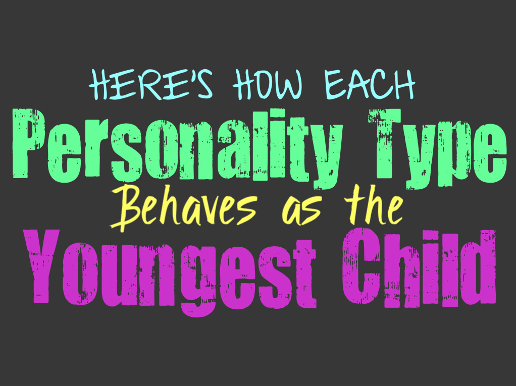 Here's How Each Personality Type Behaves as the Youngest Child