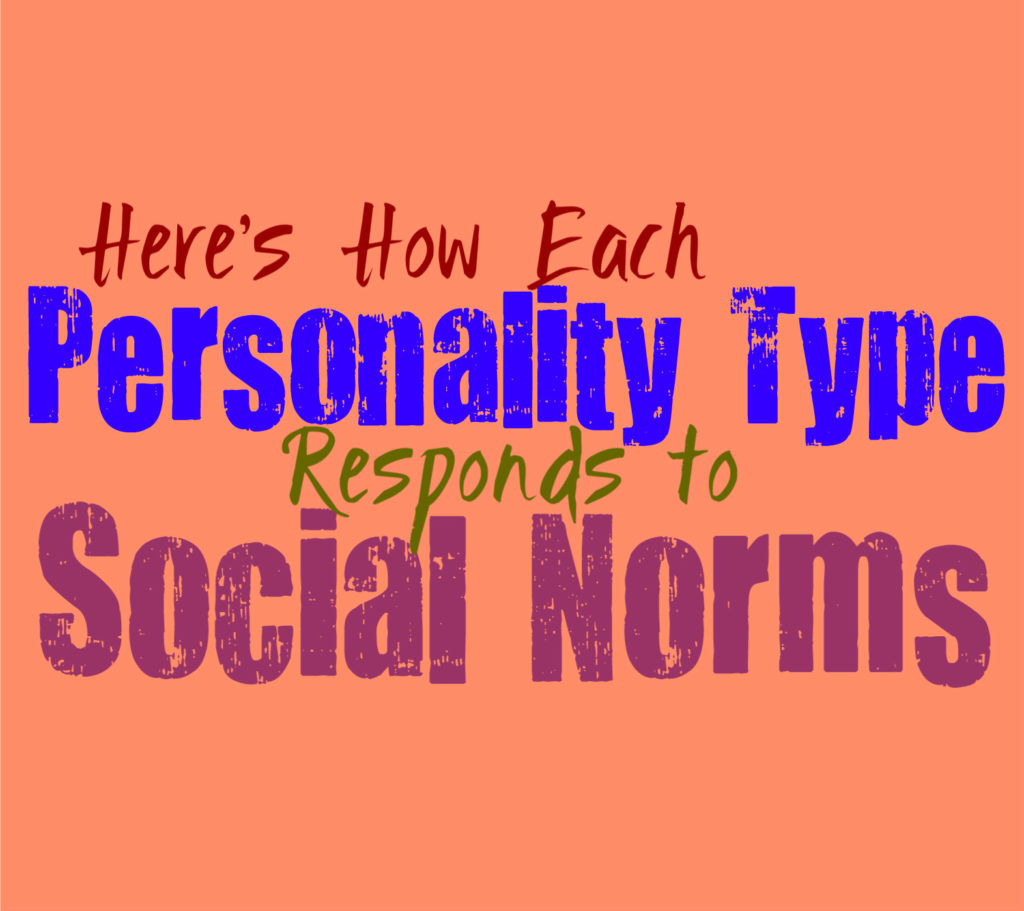 Here's How Each Personality Type Responds to Social Norms