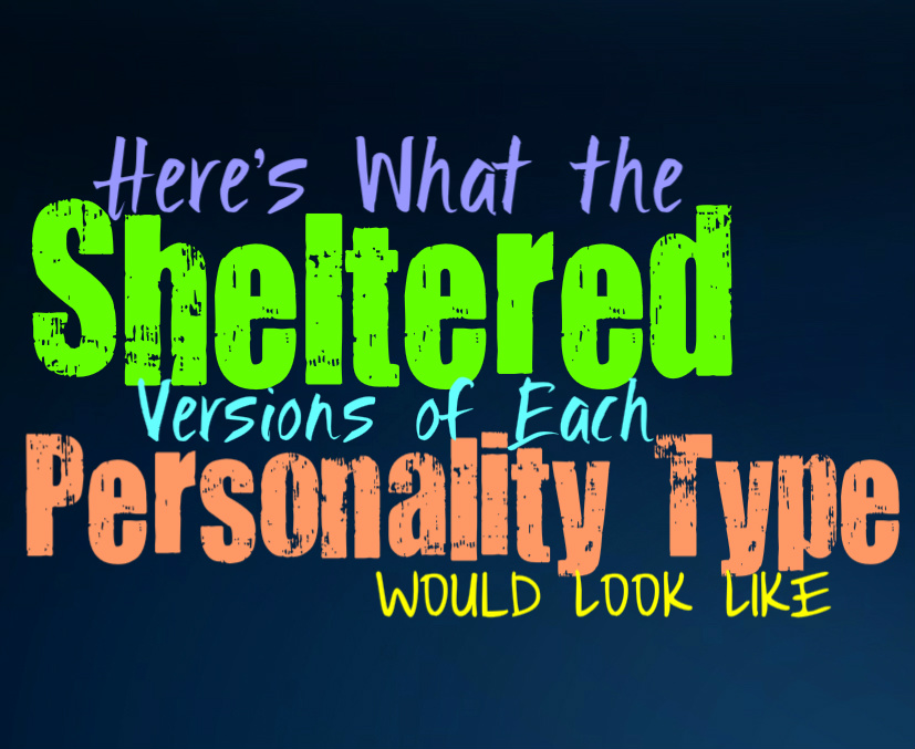Here's What the Sheltered Versions of Each Personality Type Would Look Like