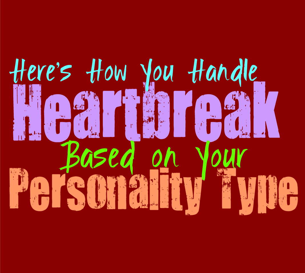Here's How You Handle Heartbreak, Based on Your Personality