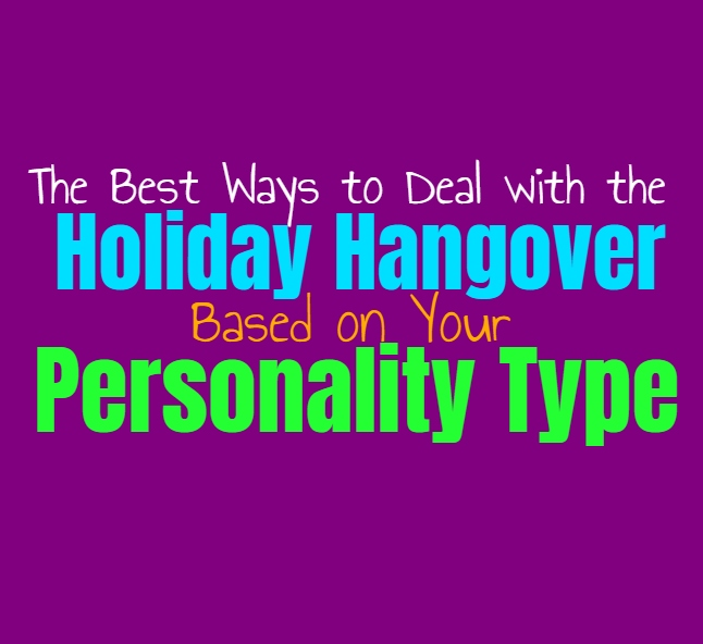 The Best Ways to Deal with the Holiday Hangover, Based on Your Personality Type