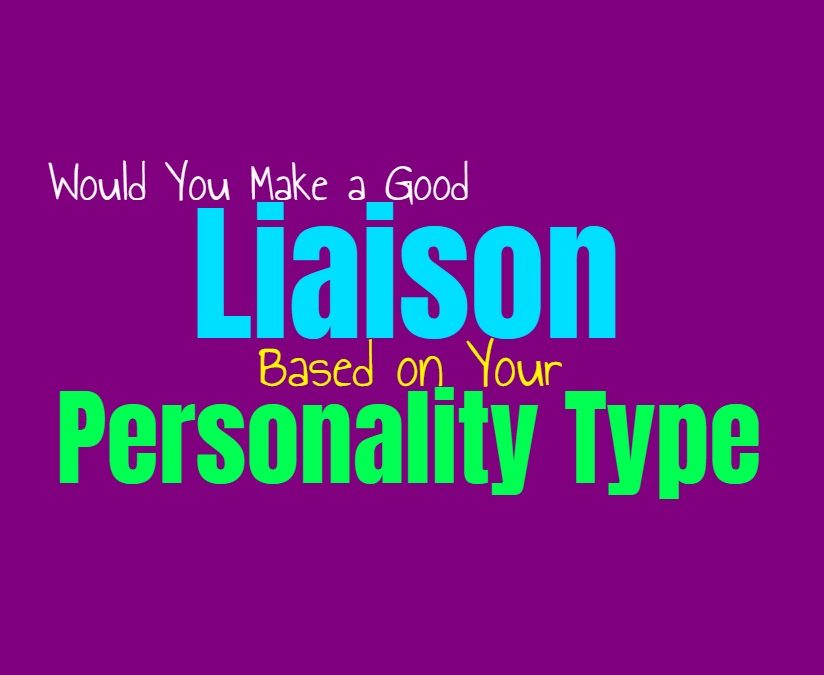 Would You Make a Good Liaison, Based on Your Personality Type
