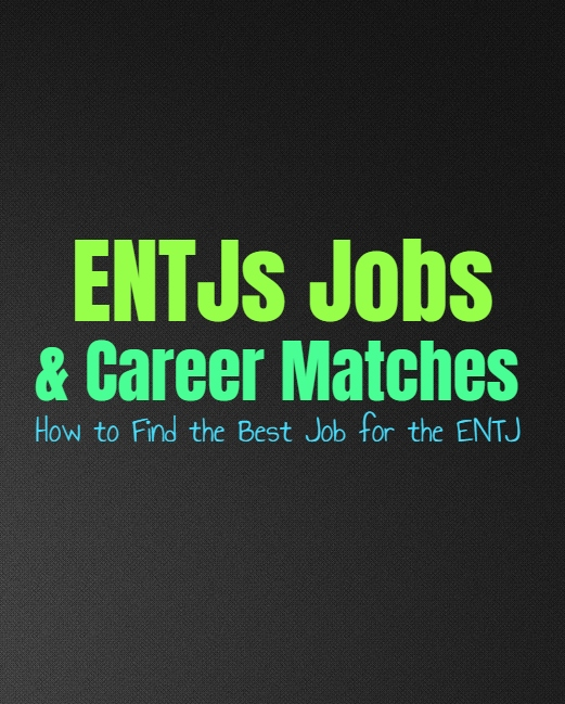 ENTJs Jobs & Career Matches: How to Find the Best Job for the ENTJ