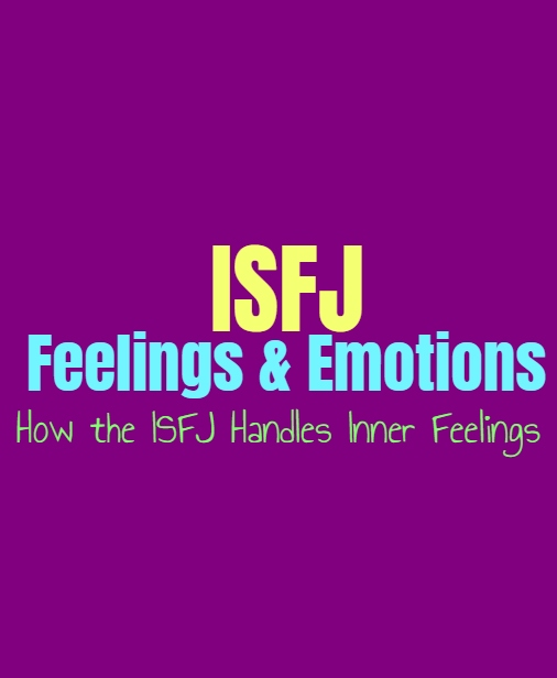 ISFJ Feelings & Emotions: How the ISFJ Handles Inner Feelings