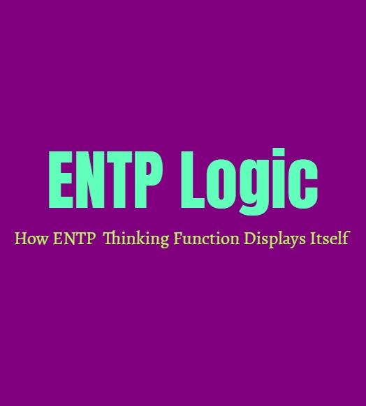 ENTP Logic: How ENTP Thinking Function Displays Itself