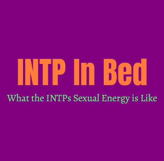 INTP In Bed: What the INTPs Sexual Energy is Like