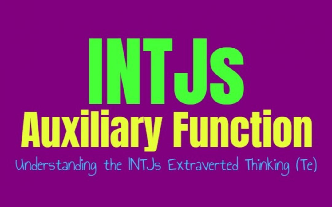 INTJ Auxiliary Function: Understanding the INTJs Secondary Extraverted Thinking (Te)
