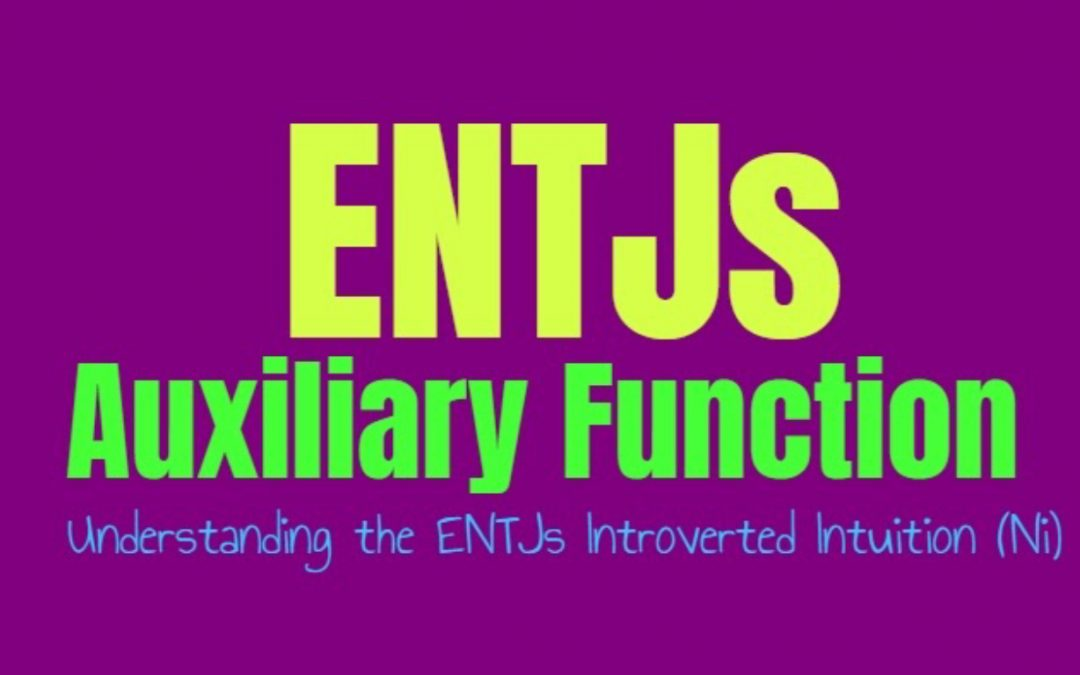 ENTJ Auxiliary Function: Understanding the ENTJs Secondary Introverted Intuition (Ni)