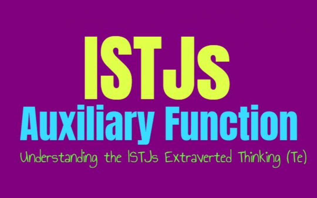 ISTJ Auxiliary Function: Understanding the ISTJs Secondary Extraverted Thinking (Te)