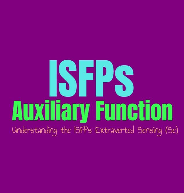 ISFP Auxiliary Function: Understanding the ISFPs Secondary Extraverted Sensing (Se)